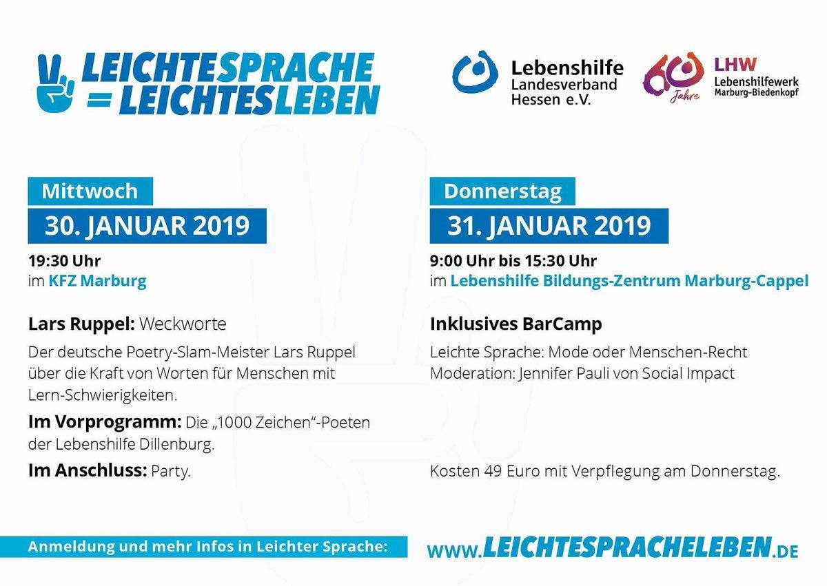 a8b0517164384a Lebenshilfe Hessen on Twitter