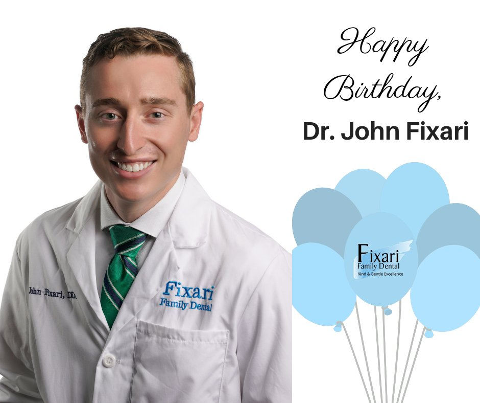 Happy Birthday to Dr. John Fixari! We hope your day is extra special and full of wonderful memories.