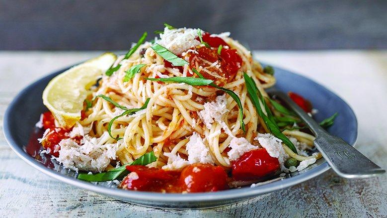 #Spaghetti With Lemon And Chilli Crabmeat #Recipe  https://t.co/IlGNxuG2Zt https://t.co/7qMVVzHDRC