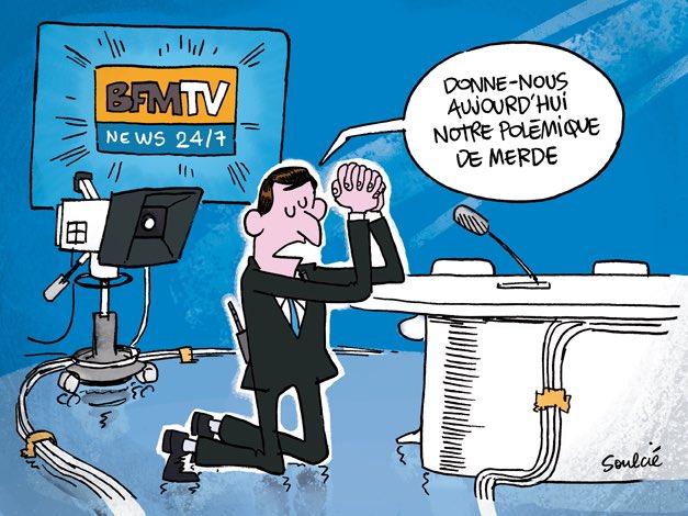 L'opportun dessin de la rédaction par Thibaut Soulcié @tsoulcie #BFMTV #GiletJaune