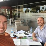 FWP international team hard at work in Mallorca #sunshine #teambuilding