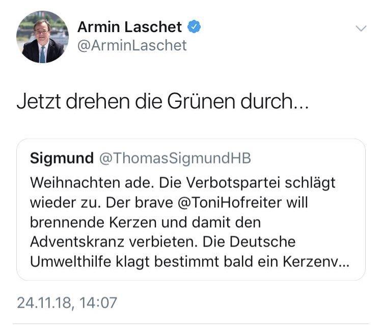 Armin Laschet On Twitter Gerne Die Grünen Wollen Nicht Die
