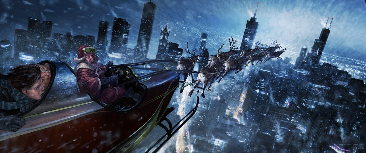 Christmas Chronicles Sleigh.Vincent Proce On Twitter It S Beginning To Feel A Lot Like