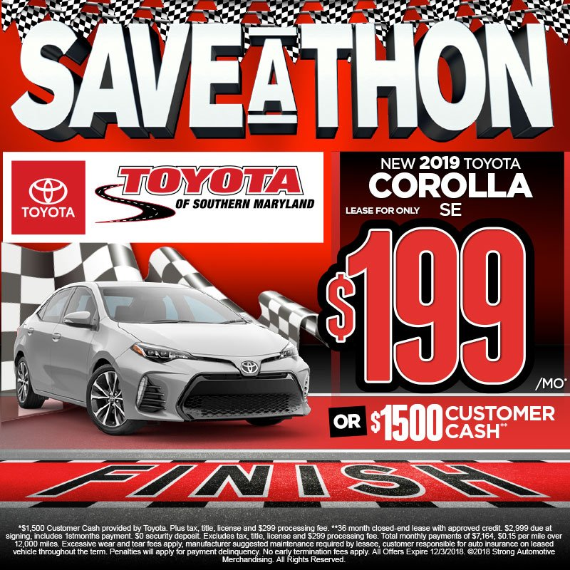Toyota Of Southern Maryland >> Toyota Of Southern Maryland On Twitter Save Big During
