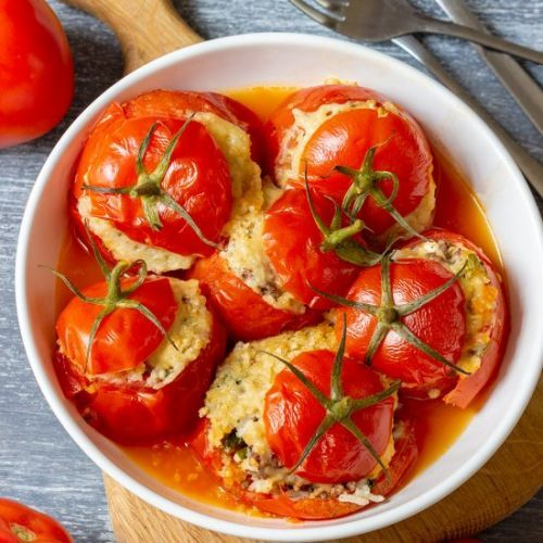 Meat - Quick Instant Pot Stuffed Tomatoes> This is an easy and q.. https://t.co/p3yb3BC0IR #recipes https://t.co/fqNyHKnyqb
