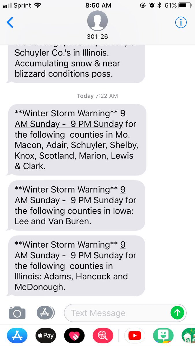 Do you get our severe weather text alerts? sign up here for up to