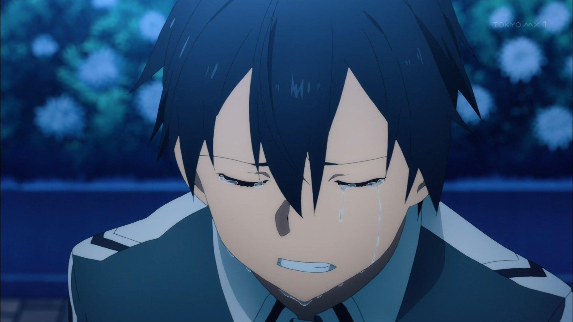 #SAO #sao_anime キリトの泣き顔 https://t.co/PAAdgMmEZi