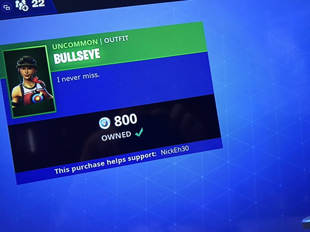 Nick Eh 30 Fortnite Code