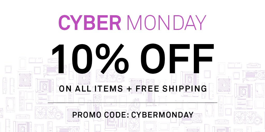 Nzxt On Twitter Black Friday Is Over So We Re Starting Cyber Monday On Purple Saturday Get 100 Off All Pc Builds Free Shipping At Https T Co Z5al6i2tnn Https T Co X1rxv7oeu0
