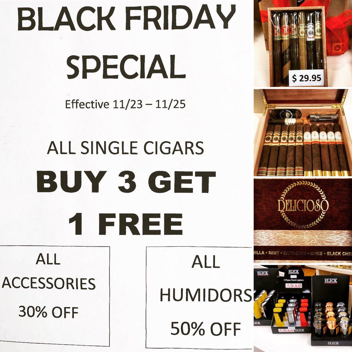 Sj Cigars On Twitter Black Friday Small Buisness Saturday Specials Extended Till 11 25 Cubanstockcigars Sjcigarsmokers Cigarlover Everydaysmoker Blackfriday Philadelphia Sotl Botl Cigarsociety Shoplocal Smallbusinesssaturday