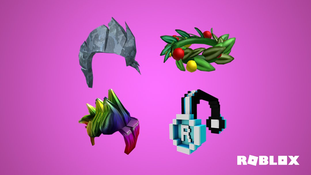 Roblox On Twitter Classic Rainbow Holiday Mohawk Wheres Your