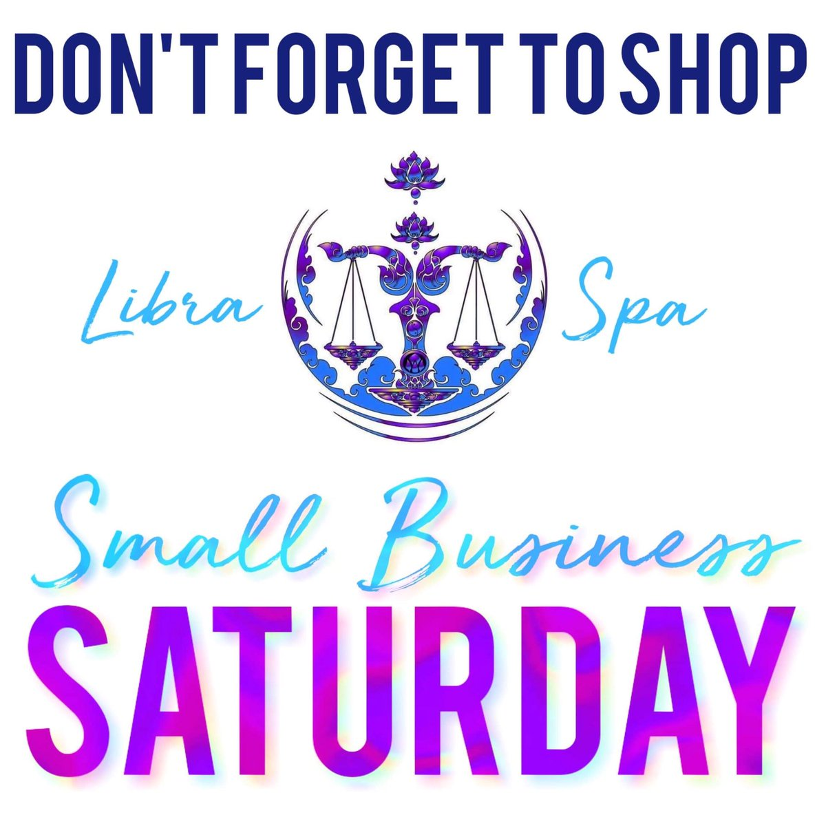 Libra Spa On Twitter Its Small Business Saturday We Have Amazing