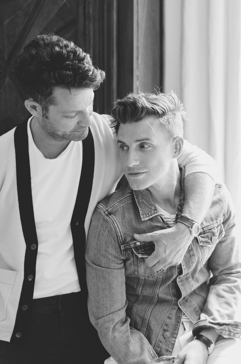Happy birthday, my everything. We are so very lucky to have you in our lives @JeremiahBrent.