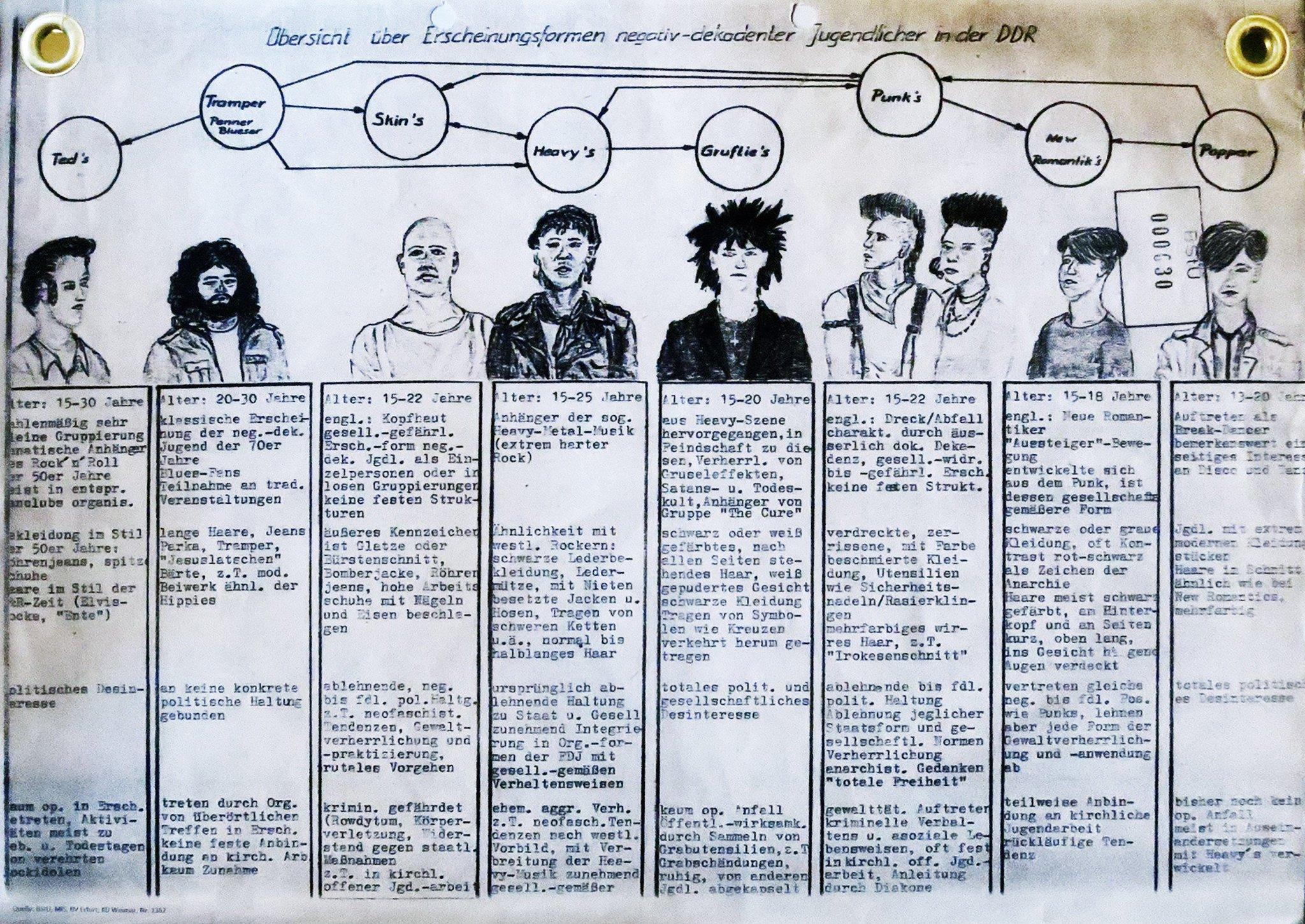 classificazione sottoculture giovanili ted