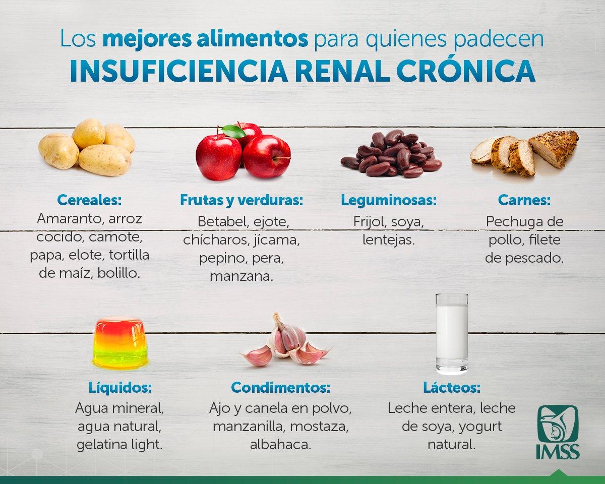 Dieta para insuficiencia renal cronica