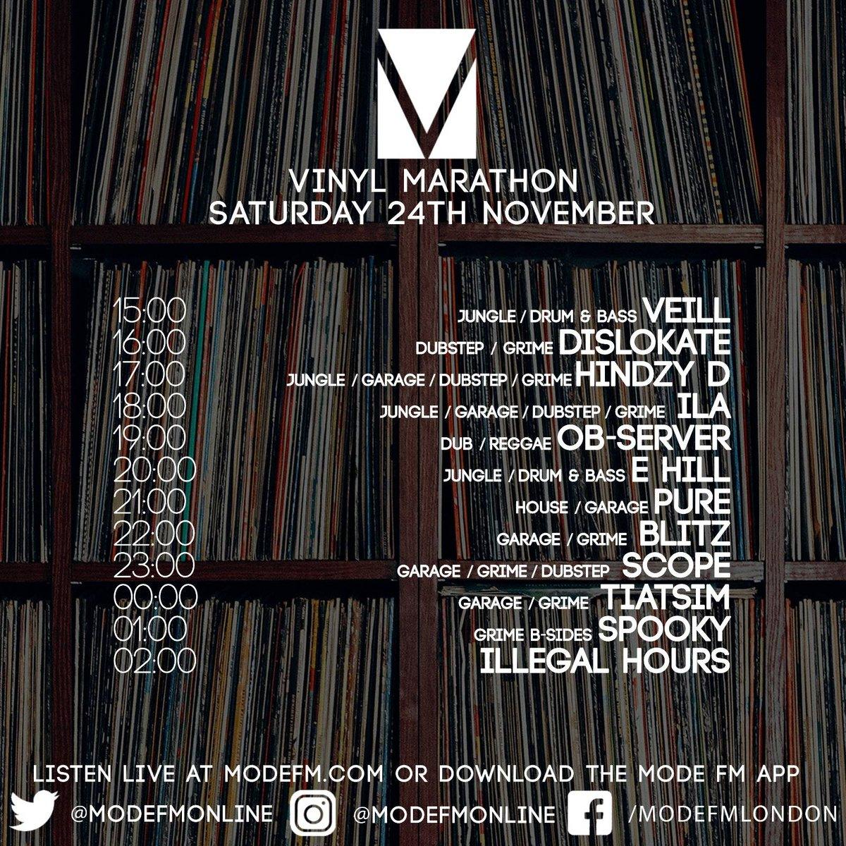 vinylmarathon hashtag on Twitter