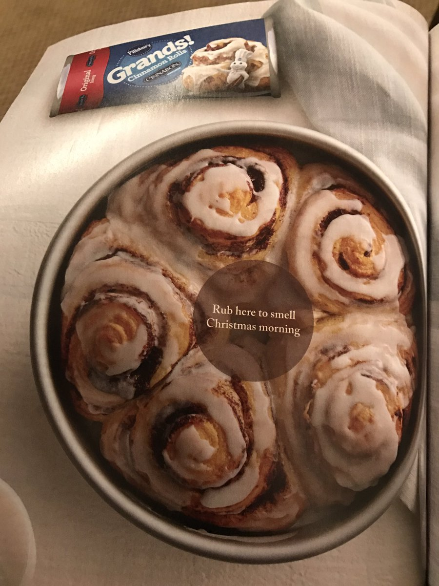 Emmy Lou Burchette On Twitter Strategy Matters Ahh The Smells Print Ad By Pillsbury Uses Scent Circle To Promote Cinnamon Buns Scent Advertising Cinnamonbuns Smellslikecinnamonsugar Strategy Marketing Gainyouredge Memories