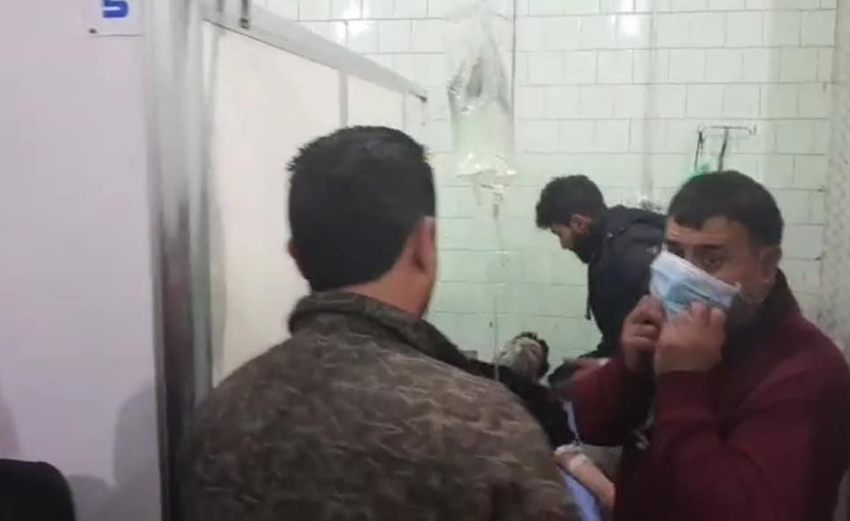 Боевики применили химическое оружие в Алеппо