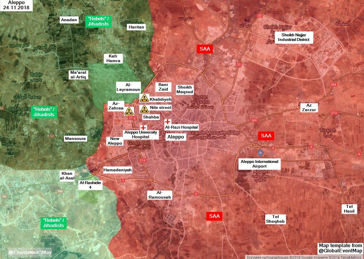 Химическая атака в Алеппо