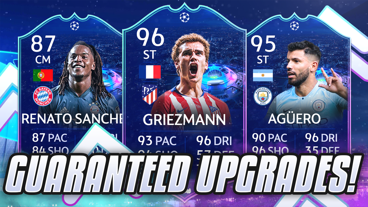 Fut Mentor On Twitter Ucl Live Cards Guaranteed Upgrades