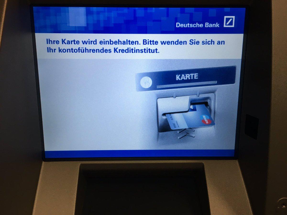 Ec Karte Sperren Deutsche Bank.Deutsche Bank Karte