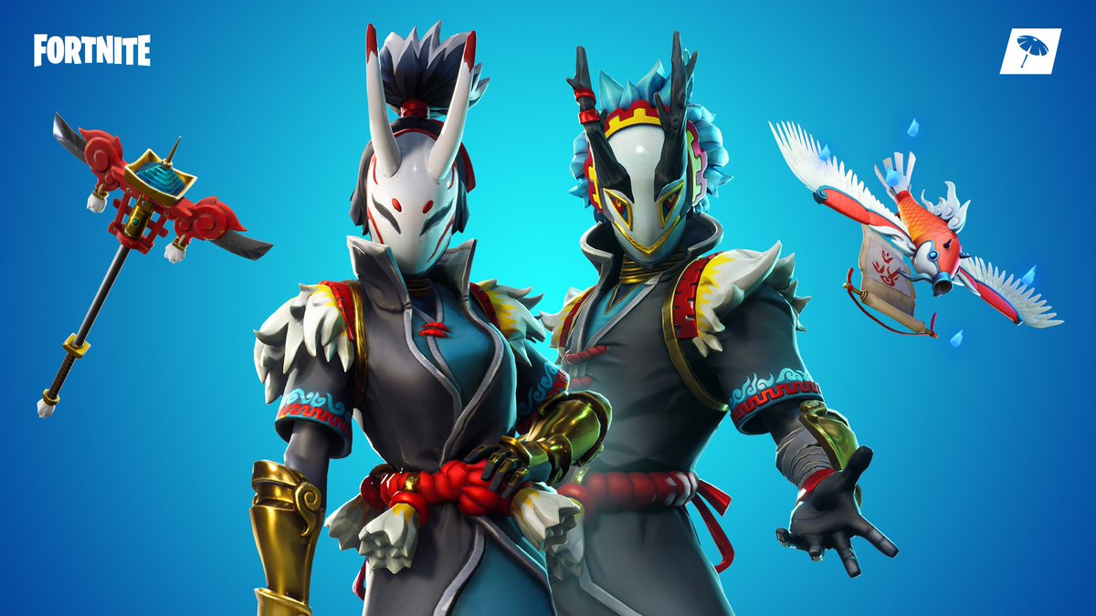 Fortnite On Twitter Become The Storm The Storm Familiars Set Is