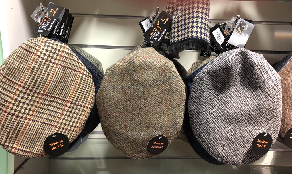 c8c78ae2acc Really disappointed to see  N T S goin full on  Made In the UK  with their   harristweedauth gear supplied by Glasgow based wholesaler  glenappin.