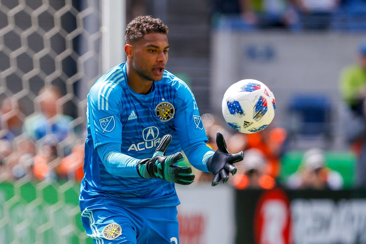 7e698d59a32 The goalkeeper is considered to be the next great American  keeper and the  Citizens could line up a £5 million move for him.  PremierLeague   ManchesterCity ...