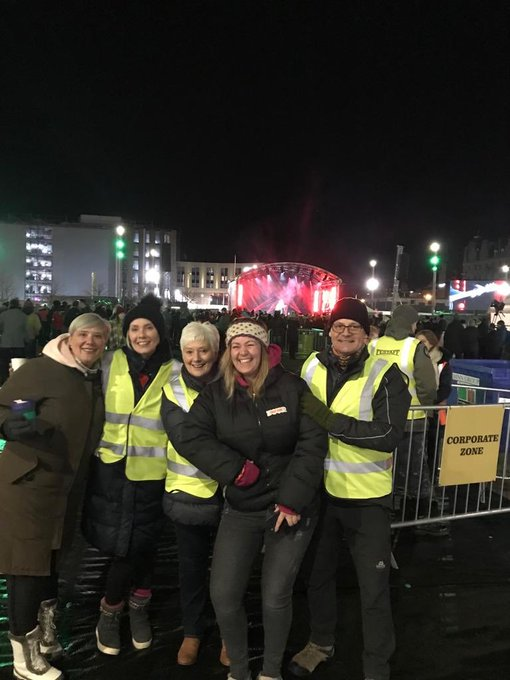 Massive shout out to the 200+ #volunteers who helped at #SleepInThePark last night especially all those @SocialBite_ family members roped in! 👍you were immense 👇 Photo