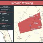 Image for the Tweet beginning: Tornado Warning including Dade City