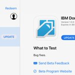 Image for the Tweet beginning: Updated IBM Domino Mobile Apps