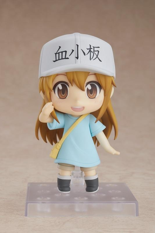 Platelets: A type of blood component. They aggregate when the blood vessels are damaged and cover the wounds. 💉got.cr/platelet-nendo…