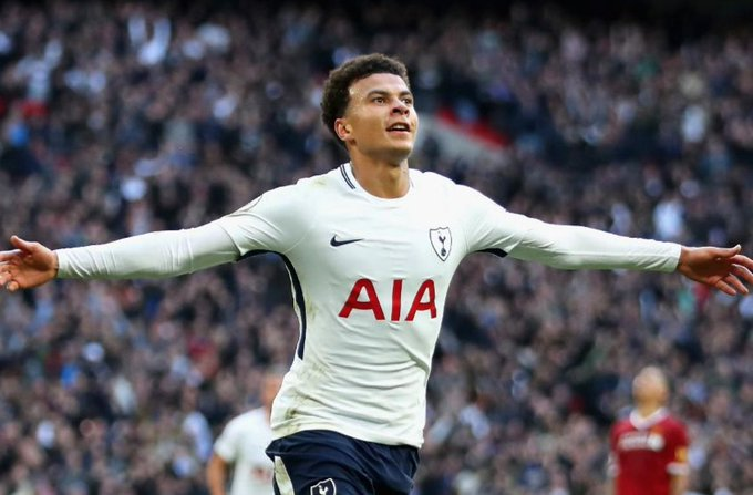 Total number of Premier League goals and assists by the age of 22: Frank Lampard - 33 Paul Scholes - 18 Steven Gerrard - 13 DELE ALLI - 67 Absolutely ridiculous numbers! 🔥🔥🔥 Photo