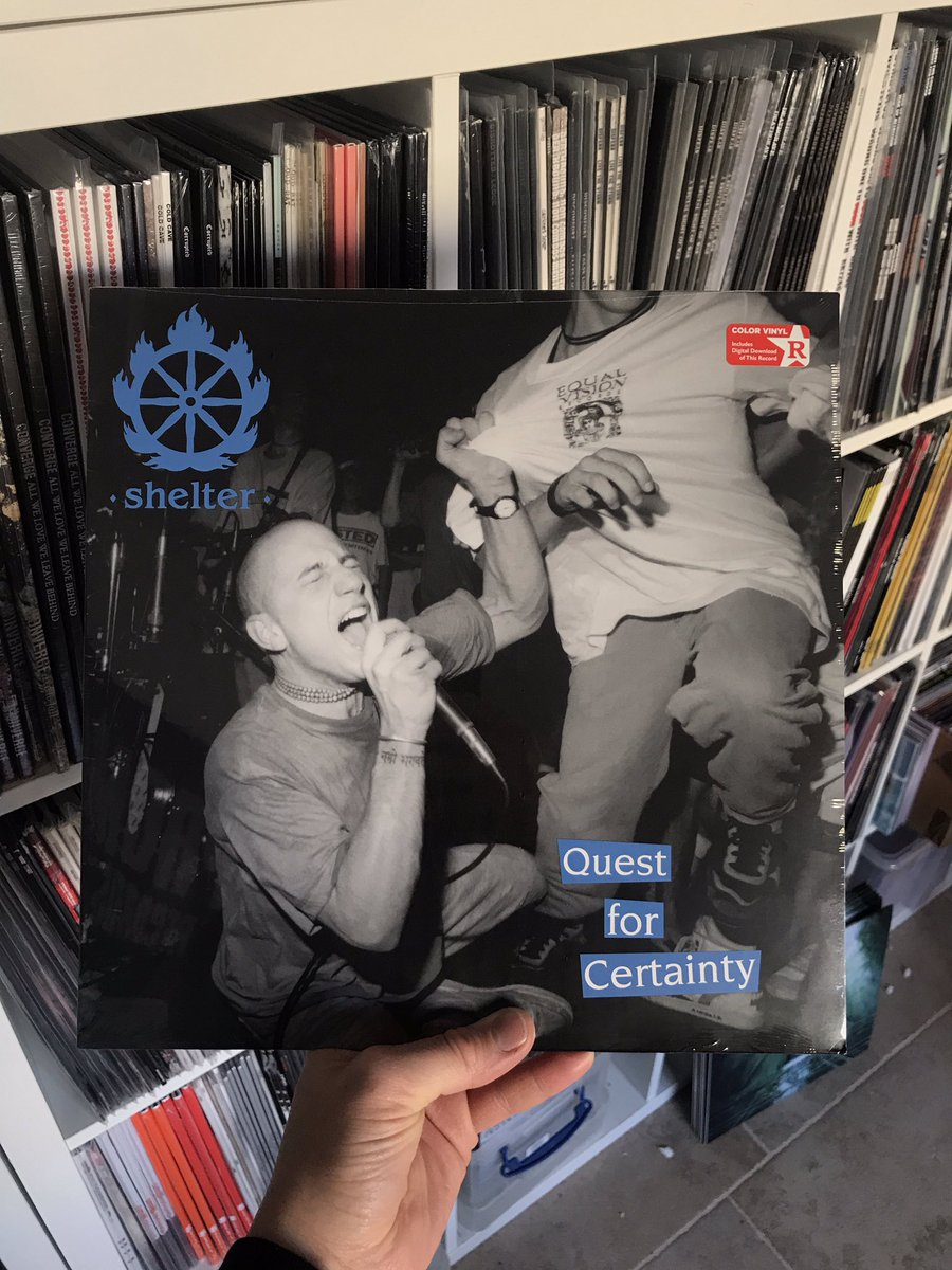 New! Shelter / Quest For Certainty  #shelter #questforcertainty #hardcore #punk #rock #bold #judge #projectx #youthoftoday #betterthanathousand #crippledyouth #vinyl #vinylrecords #records #vinyljunkie #vinylporn #vinyladdict #vinyllovers #vinylwrap  #revelationrecords