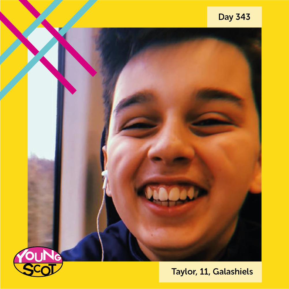 """#MyStory365 Day 343: Taylor, 11, Galashiels One of the things I enjoy about living in Scotland is the education as it has helped my knowledge grow."""" Read Taylor's story and share your story at mystory365.scot! #YOYP2018"""