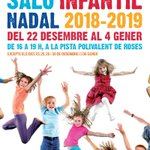 Image for the Tweet beginning: Aquest Nadal, Saló Infantil a