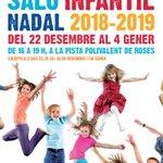 Image for the Tweet beginning: Aquest Nadal, Saló Infantil a