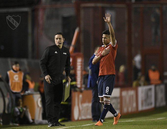 Meza fue claro y, aunque todavía faltan detalles, dio a entender que dejará #Independiente: Es momento de salir por la puerta grande ➡ Foto