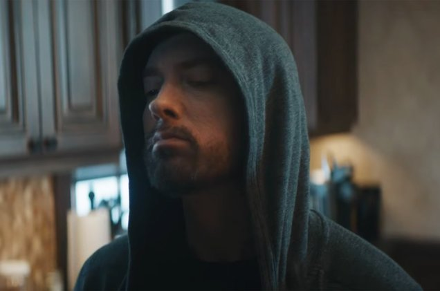 Eminem dropped the chaotic video for 'Good Guy' with Jessie Reyez blbrd.cm/5Zq3fA