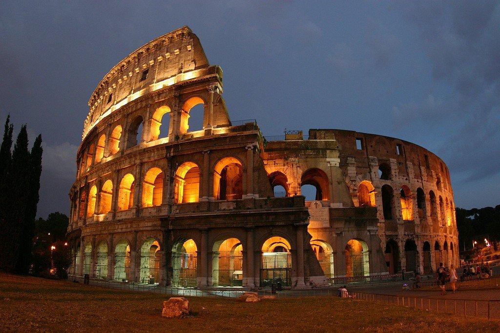 Картинки колизей древний рим, картинках спокойной ночи