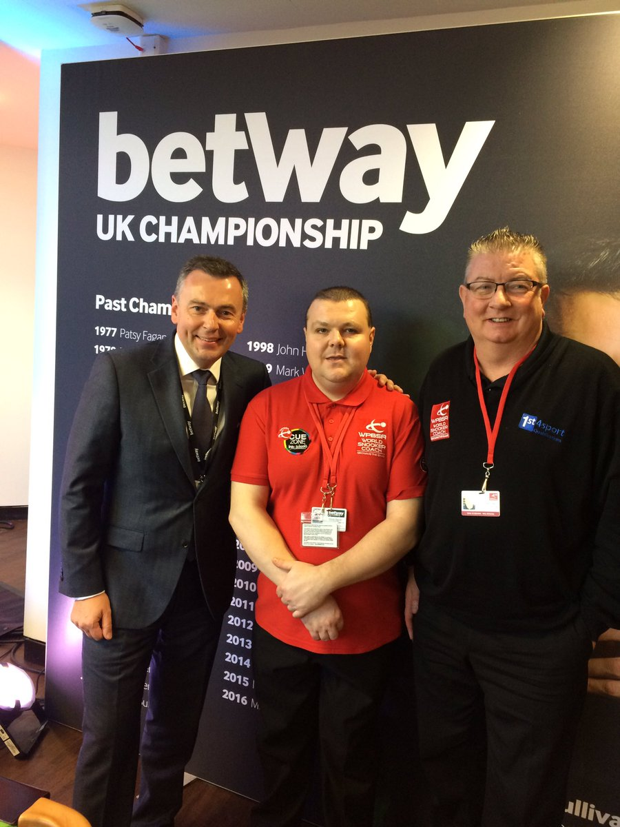 Just had the privilege to meet Jason Ferguson, Chairman of the World Professional Billiards and Snooker Association. #Cue4All