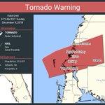 Image for the Tweet beginning: Tornado Warning including Tarpon Springs