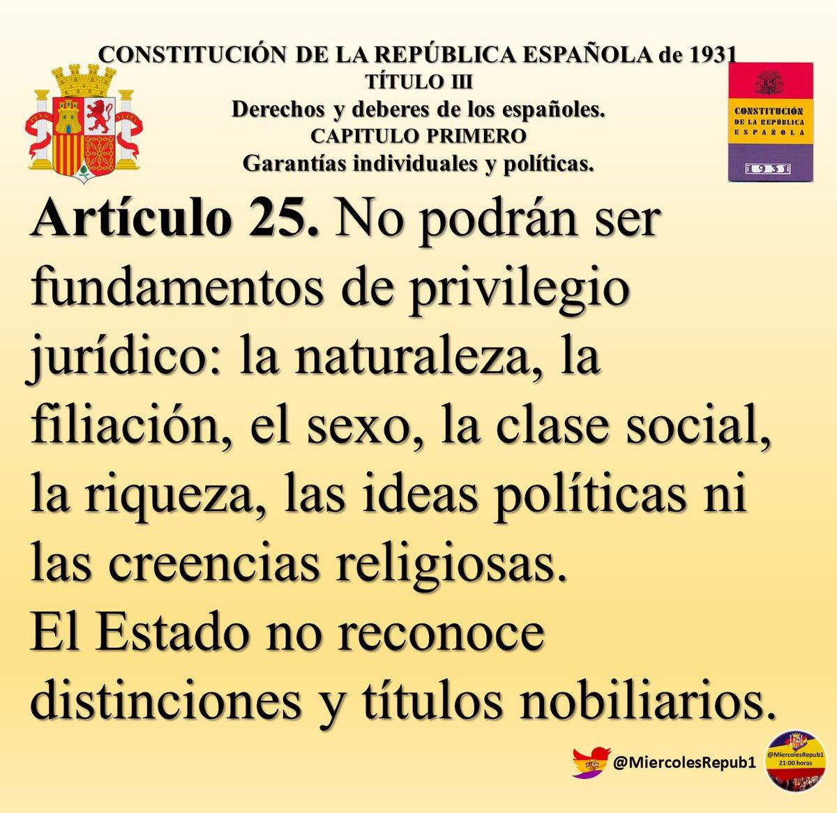 #ConstituciónDel31 sin privilegios jurídicos