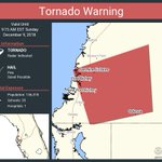 Image for the Tweet beginning: Tornado Warning continues for Jasmine