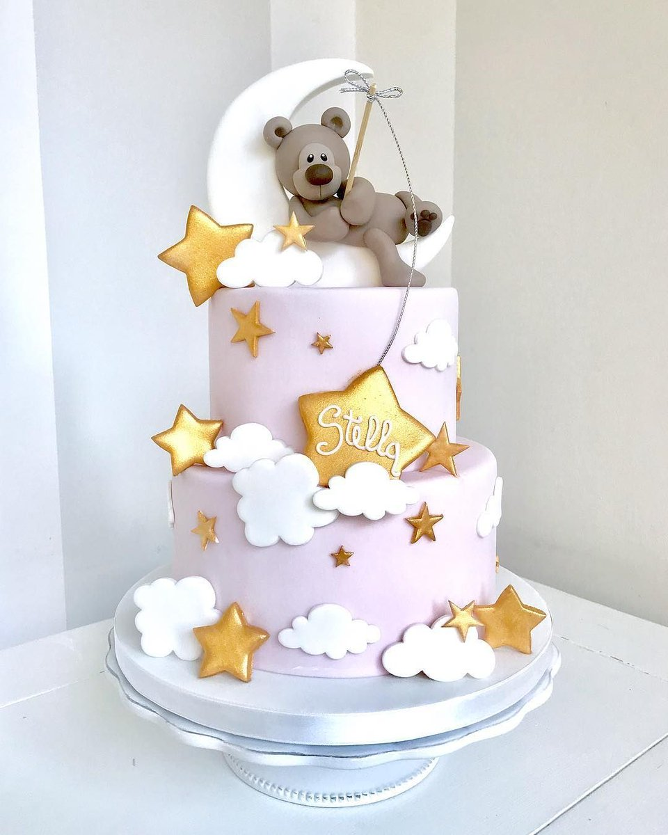 Cute Baby Shower Cake By Bella S Bakery Babyshower Cake Pink