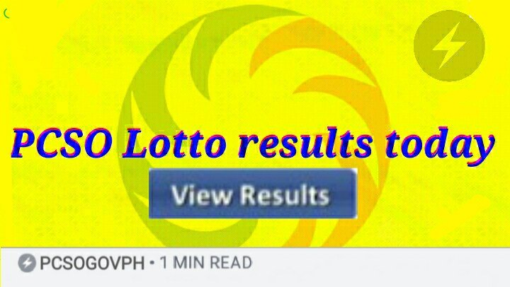 Media Tweets by PCSO Lotto results today (@PcsoGov) | Twitter