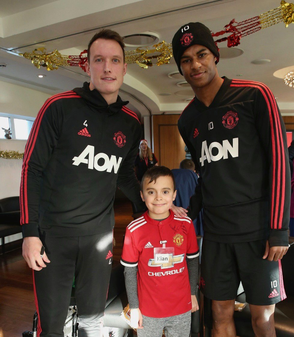 Thank you @MU_Foundation for making this happen. Inspired by you Kian 🌟 #MUDreamDay