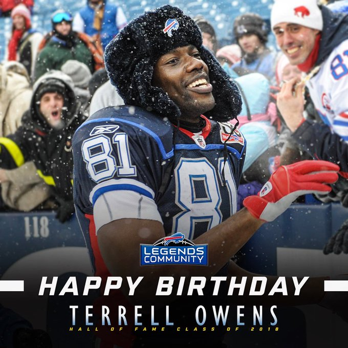 Happy Birthday to Tennessee-Chattanooga standout, Hall of Fame wide receiver, Terrell Owens!