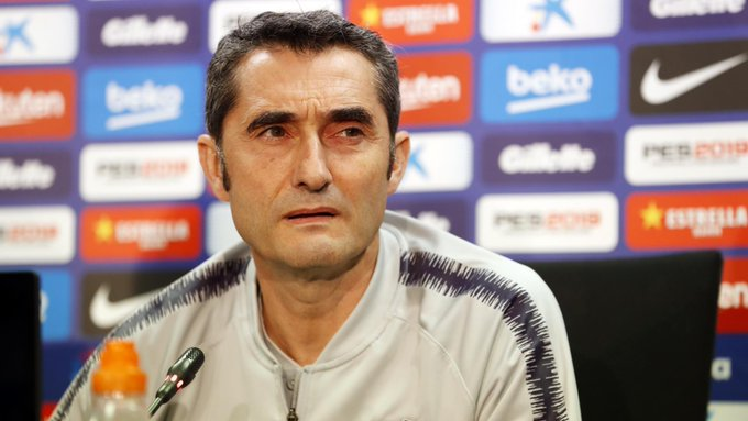 🔊 Ernesto Valverde: This season Espanyol are a side who come at you and who have the ball. They have kept their quick players and want to take the initiative more. 🔵🔴 #EspanyolBarça Photo