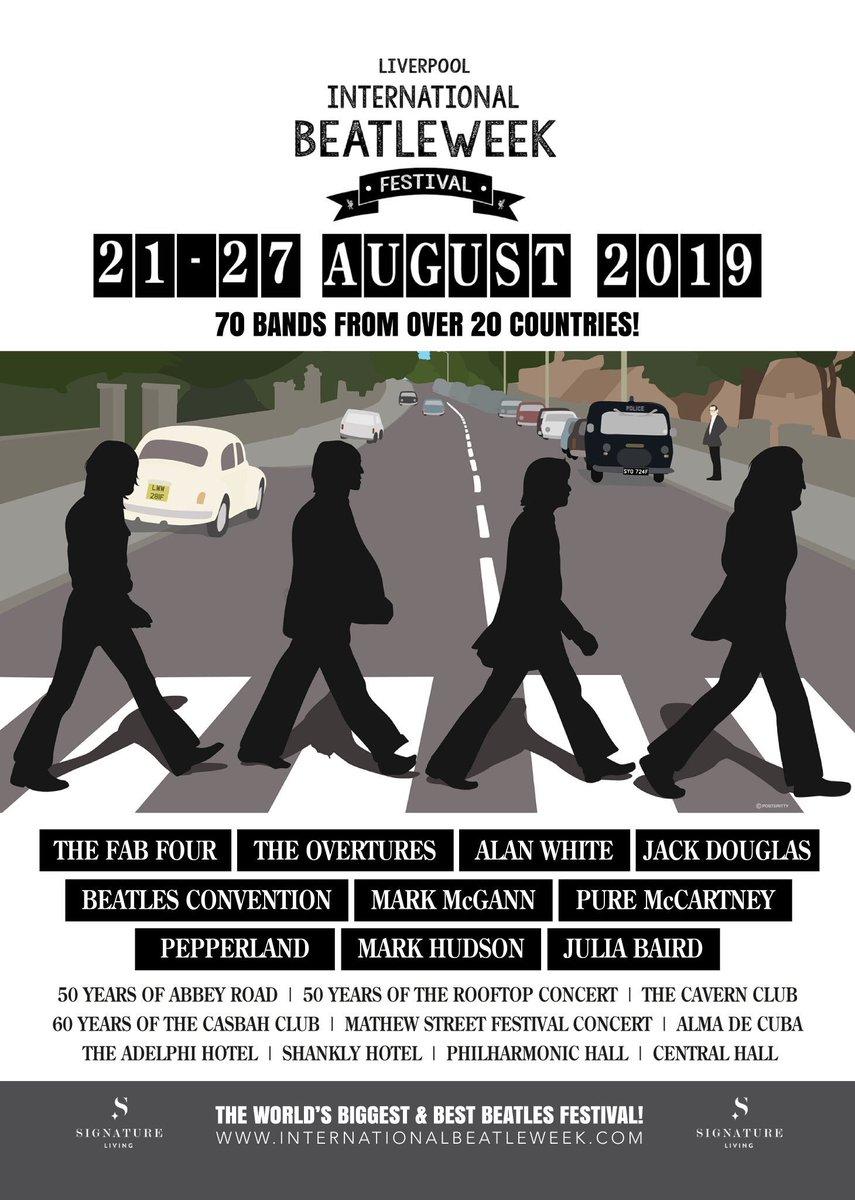 The Beatles Polska: International Beatleweek Festival 2019 w Liverpoolu